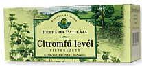 Herbária Citromfű levél tea 25 filter(25g)