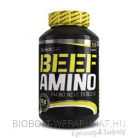 BioTech USA Beef Amino 120db tabletta