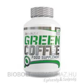 BioTech USA Green coffee kapszula 120db