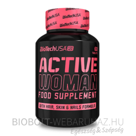 BioTech USA Active woman tabletta 60db