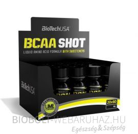 BioTech USA BCAA Shot 20x60ml