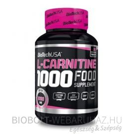 BioTech USA L-Carnitine 1000 mg tabletta 30 db