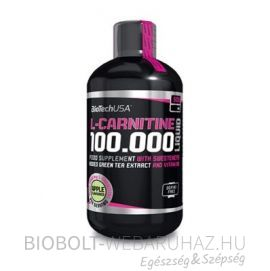 BioTech USA L-Carnitine 100000 Liquid 500ml