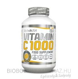 BioTech USA C-Vitamin 1000 mg tabletta 100 db