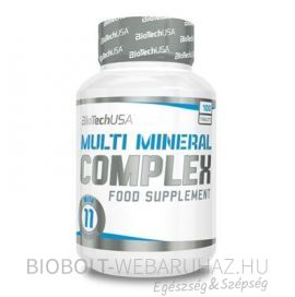 BioTech USA Multi Mineral Complex tabletta 100 db