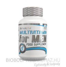 BioTech USA Multivitamin for Men tabletta 60 db