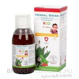 Herbal Swiss Kid köhögés elleni szirup 150ml