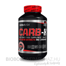 BioTech USA Carb-X tabletta 120db