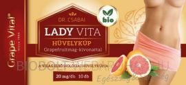Dr. Csabai Grape Vital Lady Vita hüvelykúp 10db