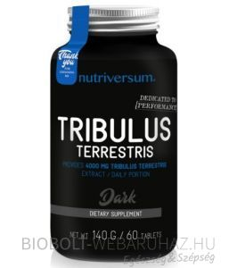 Nutriversum Dark Tribulus Terrestris tabletta 60db