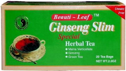 Dr. Chen Ginseng Slim tea 20 filter 60g