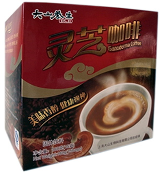 Big Star Ganoderma Instant Kávé 12 g x15 db