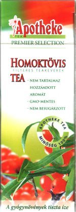 Apotheke Homoktövis tea 20 filter 50g